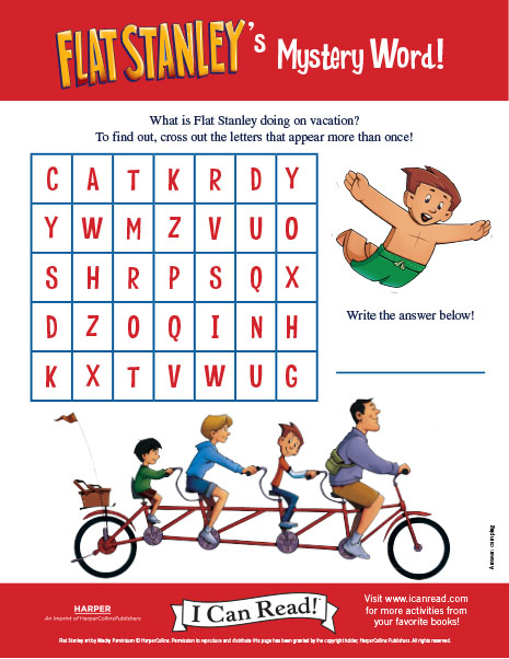 Flat Stanley's Mystery Word