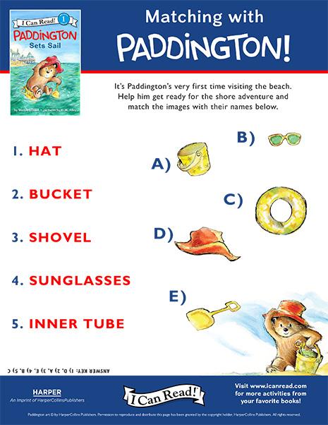 Matching with Paddington!